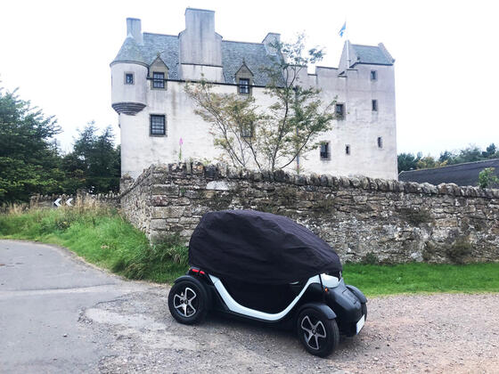 Twizy car cover